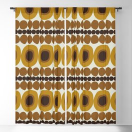 70s Vibes Blackout Curtain