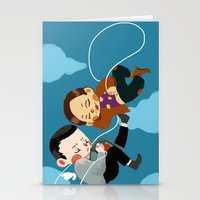 inception Stationery Cards featuring inception by Saalk