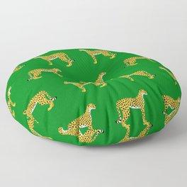 Cheetah Jungle Lush Floor Pillow