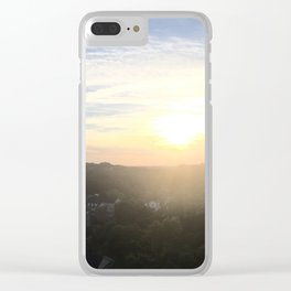 Sunset Alexandria Clear iPhone Case