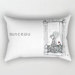 A Few Parisians: Monceau by David Cessac Rectangular Pillow