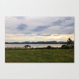 Rosa Sunset  Canvas Print