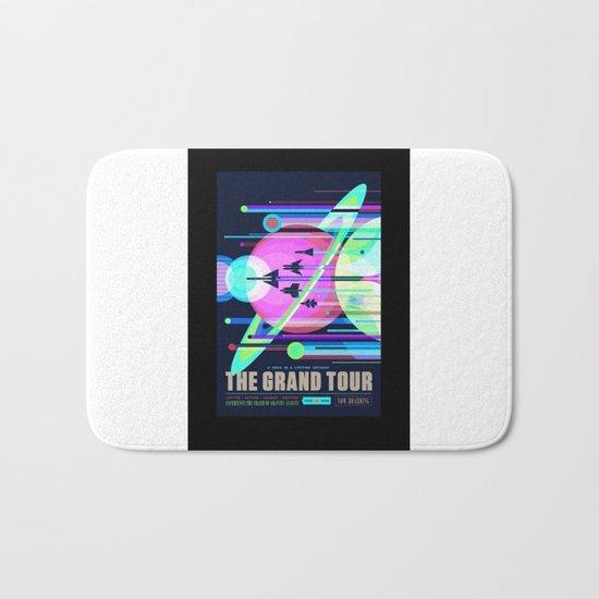 Grand Tour - NASA Space Travel Poster (Alternative) Bath Mat