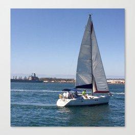Santa Barbara Sailing Canvas Print
