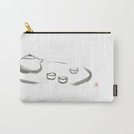 Relaxed by Chinese tea and Zen Carry-All Pouch
