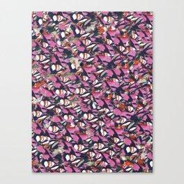 Weaving Puddles -Batsukh Batijagal Canvas Print