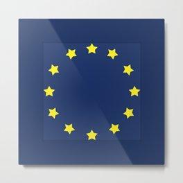 The European   Union Metal Print