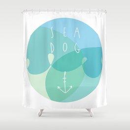 Sea Dog Shower Curtain