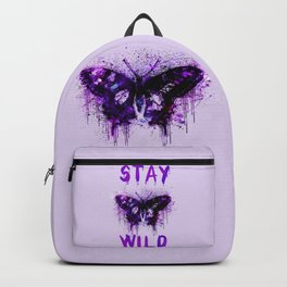 Stay Wild Butterfly Backpack