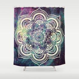 Galaxy Mandala : Deep Pastels Shower Curtain