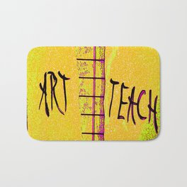 art & teach* my goals for 2017 Bath Mat