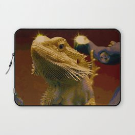 The Majestic Bearded Dragon Laptop Sleeve