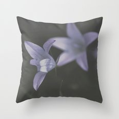 Botanical Still Life Photography Lily Wildflower Throw Pillow