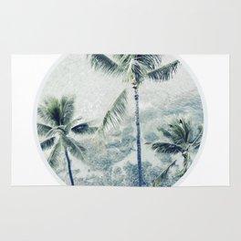 Reef palms Rug