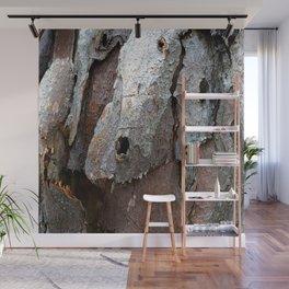Eucalyptus Tree Bark Texture 13 Wall Mural