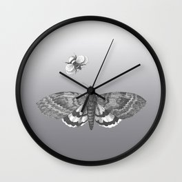 A Lepidopterist delight Wall Clock