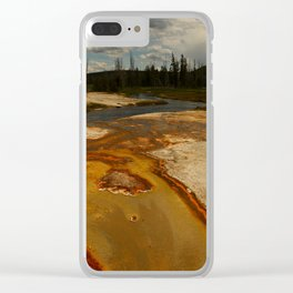 Geyer Colors Clear iPhone Case