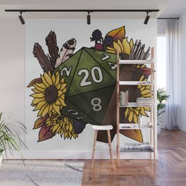 Ranger Class D20 - Tabletop Gaming Dice Wall Mural