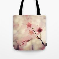 blush Tote Bags featuring Blush by Jenndalyn