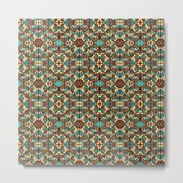 Wari I Pattern Metal Print
