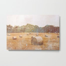Harvest Time Metal Print