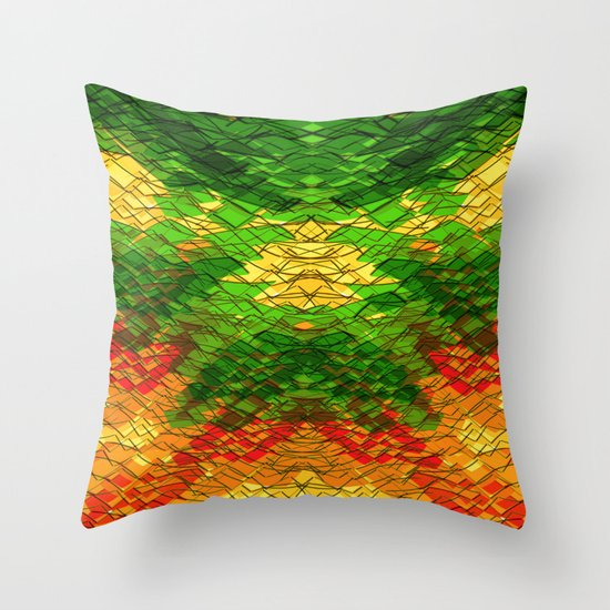 YAHSO Throw Pillow