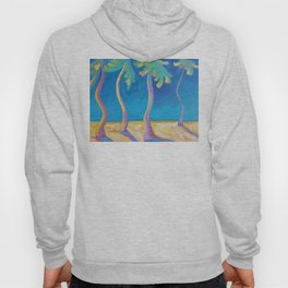 DANCING PALMS Hoody