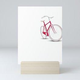 Yep I Rode 100 Miles Sarcastic Cyclist Cycling Ride T Shirt Mini Art Print