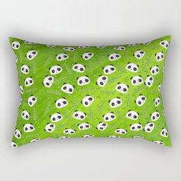 Panda and Bamboo Rectangular Pillow