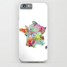 France map Slim Case iPhone 6s