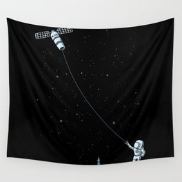 Satellite Kite Wall Tapestry