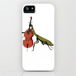 Praying Mantis Tries Cello iPhone Case