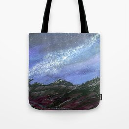 starlight wilderness Tote Bag