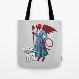 Devil With A Blue Dress On Tote Bag
