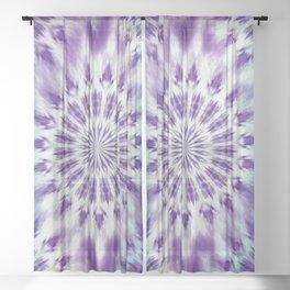 Boho Abstract Sheer Curtain