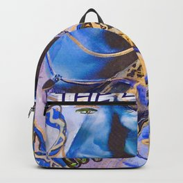 The Blues Face Backpack