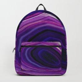 Swirled Purple Geode Backpack