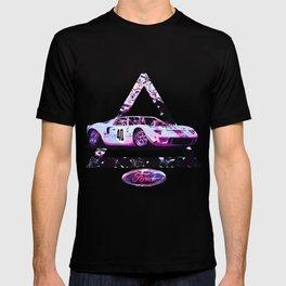 Ford Gt40// Le Mans Race Cars T-shirt