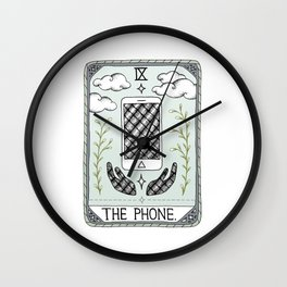 The Phone Wall Clock