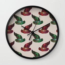 wizard hats Wall Clock