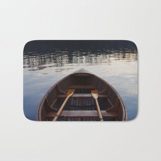 No where to row Bath Mat