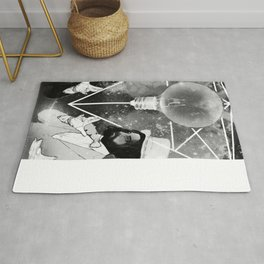 THE ILLUSIONISTS BW Rug