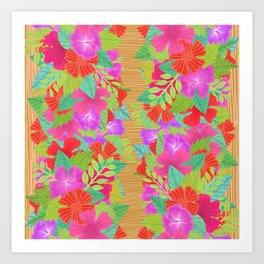 Tiki Vibes Art Print