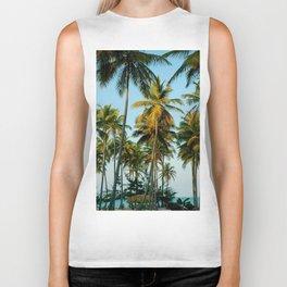 Palms in Punta Cana Biker Tank