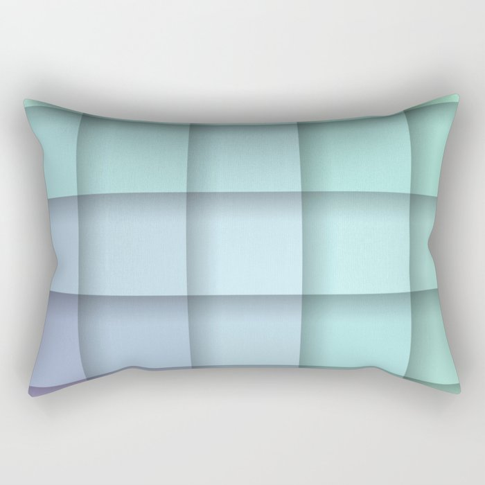 Crisp Spring Pastel Morning Rectangular Pillow