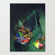 Cave Garden V Canvas Print