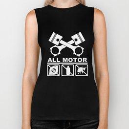 Jdm Civic Integra Type R Rsx B16 B18 B20 K20 Pistons Cams Engineer T-Shirts Biker Tank