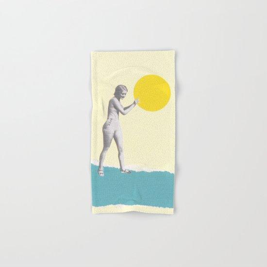 She Caught the Sun Hand & Bath Towel