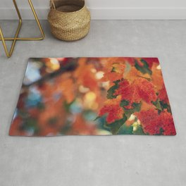 Fall Leaves Rug