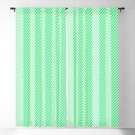 Lanai Lime Green - Acid Green Herringbone Pattern Blackout Curtain